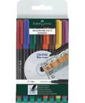 Marcador permanente 8 colores surtidos- FABER - 151309