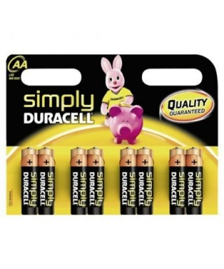 Pila LR-06 AA Plus Power- DURACELL -