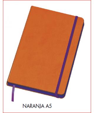 Cuaderno A5 naranja DOHE – Colección VESTA EDGE 2017 - 10676