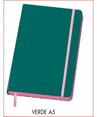 Cuaderno A5 verde DOHE – Colección VESTA EDGE 2017 - 10677