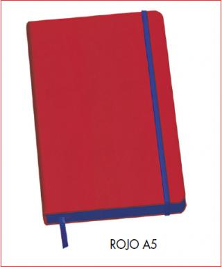 Cuaderno A5 rojo DOHE – Colección VESTA EDGE 2017 - 10678