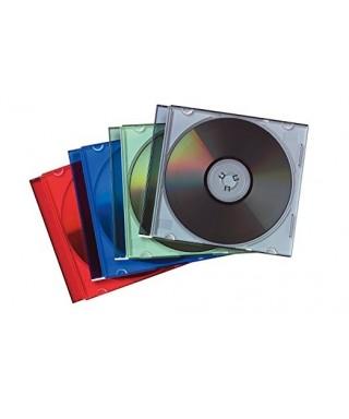 Caja Cds slim colores surtidos- FELLOWES - 98317