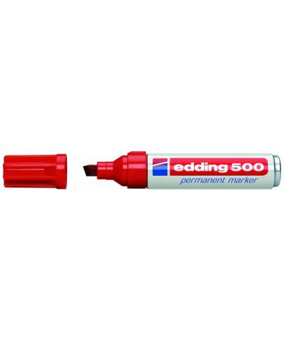Rotulador permanente rojo- EDDING - 500-002