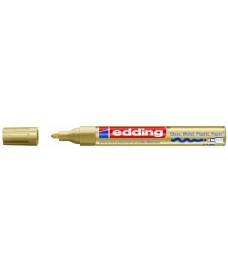 Rotulador permanente oro- EDDING - 750-053