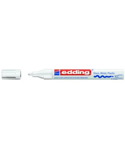 Rotulador permanente blanco- EDDING - 750-049