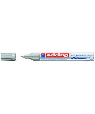 Rotulador permanente plata- EDDING - 750-054