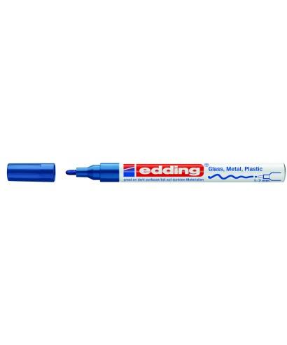 Rotulador permanente azul- EDDING - 751-003