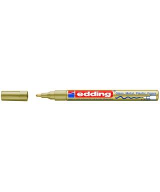 Rotulador permanente oro- EDDING - 751-053
