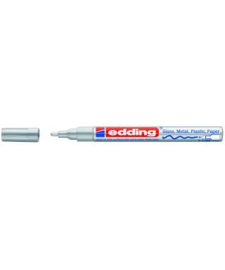 Rotulador permanente plata- EDDING - 751-054