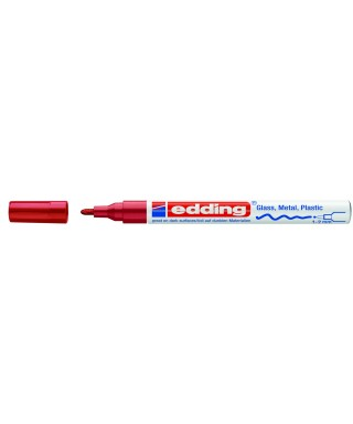 Rotulador permanente rojo- EDDING - 751-002