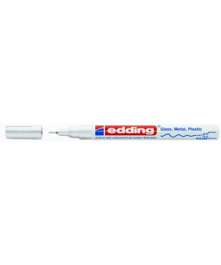 Rotulador permanente blanco- EDDING - 780-049