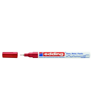 Rotulador permanente rojo- EDDING - 780-002