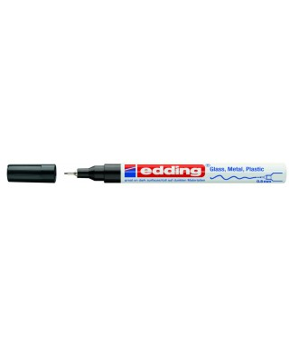 Rotulador permanente negro- EDDING - 780-001