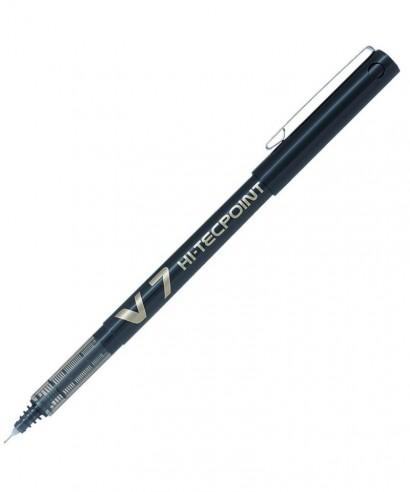 Bolígrafo punta aguja V7 negro- PILOT