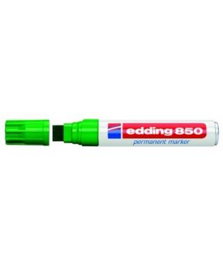 Rotulador permanente extra grueso verde- EDDING - 850-004