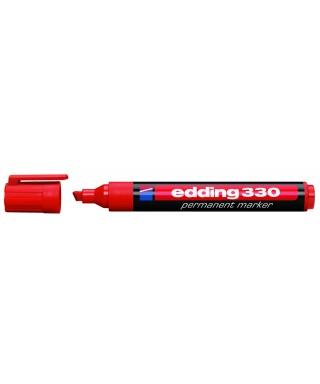 Rotulador permanente rojo- EDDING - 330-002