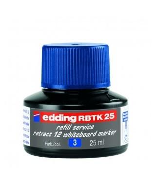 Tinta azul para rellenar rotuladores pizarra- EDDING - BTK 25-003