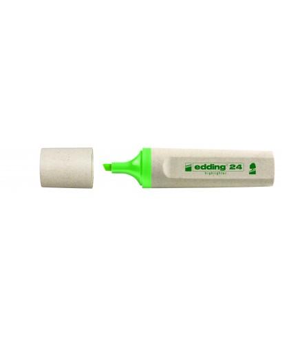 Marcador fluorescente 24-011 verde claro - EDDING
