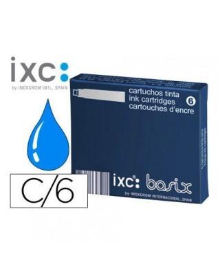 Recambio pluma corto azul- INOXCROM - 965718