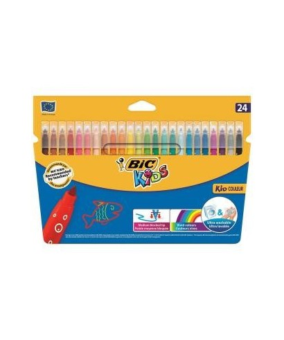 Rotulador colores surtidos Kid couleur- BIC - 841803