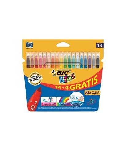 Rotulador colores surtidos Kid couleur- BIC - 937510