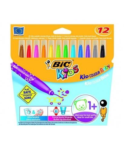 Rotulador colores surtidos Kid couleur baby. BIC - 902080