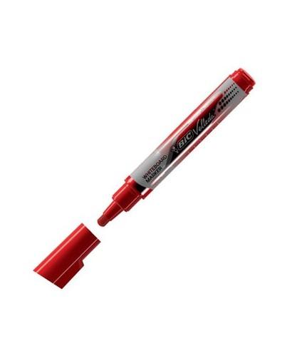 Marcador pizarra velleda Liquid rojo- BIC - 902097