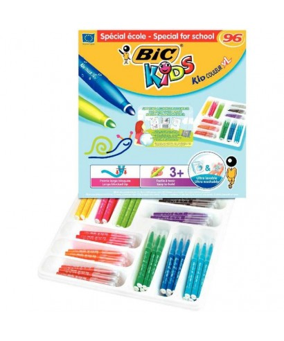 Rotulador colores surtidos Kid couleur baby. BIC - 887834