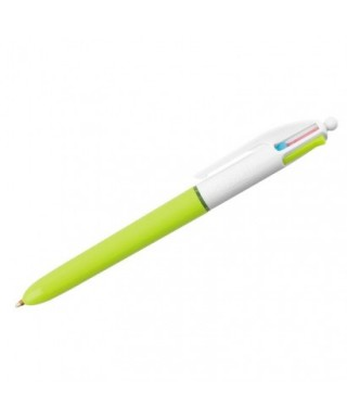 Bolígrafo retráctil 4 colores Fashion- BIC - 887777