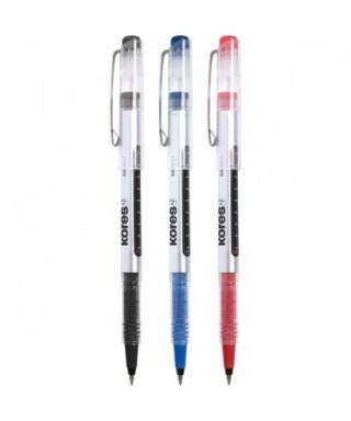 Bolígrafo tinta líquida azul- GRAFOPLAS - 30210630
