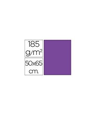 Cartulina 50x65 violeta- CANSON - 200040231