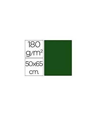 Cartulina 50x65 verde abeto- CANSON