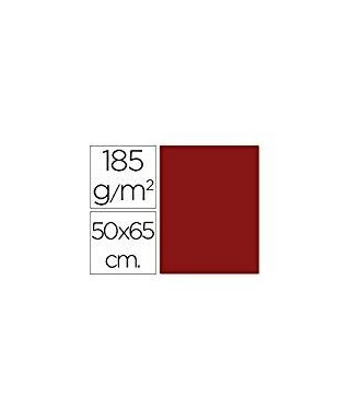 Cartulina 50x65 granate- CANSON - 200040229
