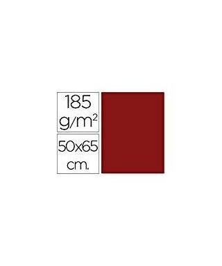 Cartulina 50x65 granate- CANSON