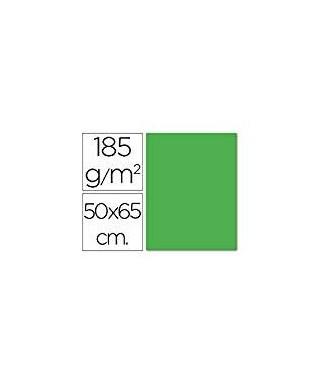 Cartulina 50x65 verde manzana- CANSON