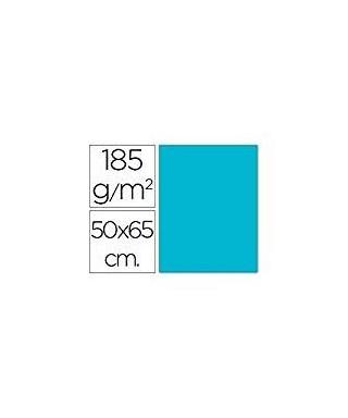 Cartulina 50x65 azul turquesa- CANSON