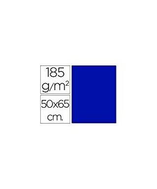 Cartulina 50x65 azul ultramar- CANSON