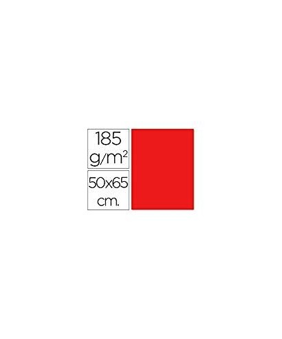 Cartulina 50x65 rojo- CANSON