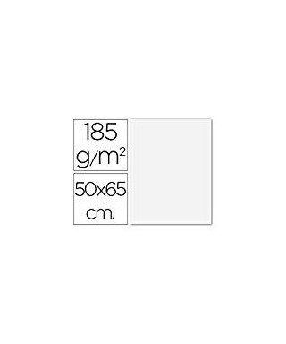 Cartulina 50x65 blanco- CANSON