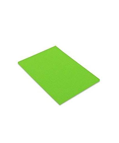 Cartulina A-3 verde flúor- CANSON