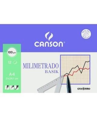 Minipack láminas papel milimetrado- CANSON - 200406323