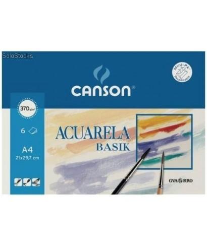 Bloc acuarela liso- CANSON - 200400698