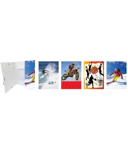 Carpeta solapas folio diseños surtidos- 4786-3
