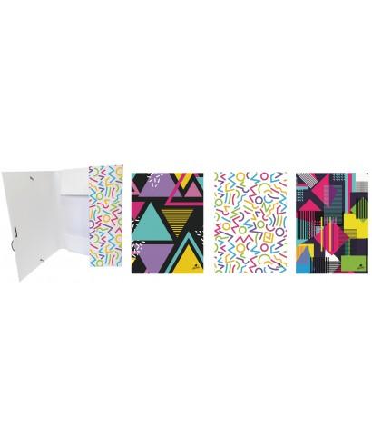 Carpeta solapas folio diseños surtidos- 4786-2