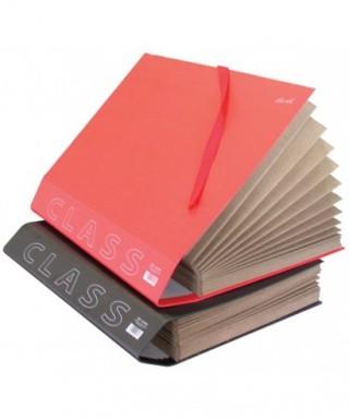 Carpeta fuelle folio alfanumérico rojo- 0918RO