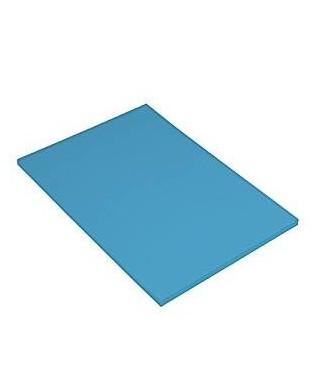 Cartulina A-4 azul maldiva- CANSON - 200040167