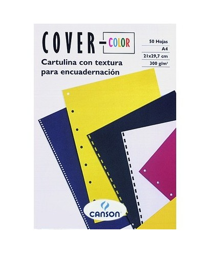 Tapas encuadernar negro. CANSON - 200407564