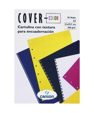 Tapas encuadernar azul ultramar. CANSON - 200407514