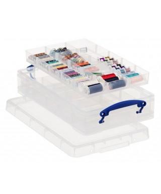 Caja almacenaje transparente- ARCHIVO 2000 - RU4-2X15 CS TP