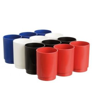 Cubilete colores surtidos opaco- ARCHIVO 2000 - PACK12-1 790 SU